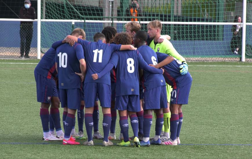 Les U19 Nationaux de Nicolas Seube ont battu le RC Lens pour le premier match officiel de la saison