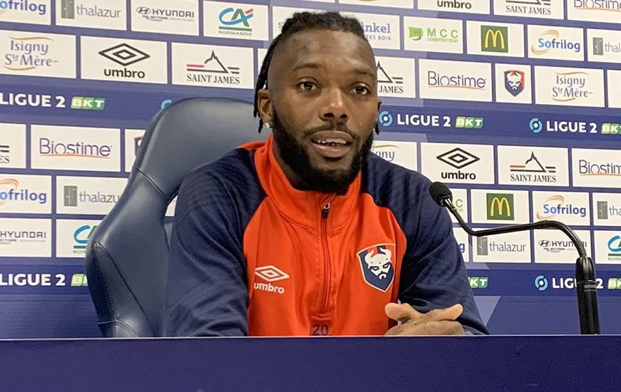 Steeve Yago et Fabrice Vandeputte ont répondu aux questions de la presse locale avant de se déplacer à Toulouse