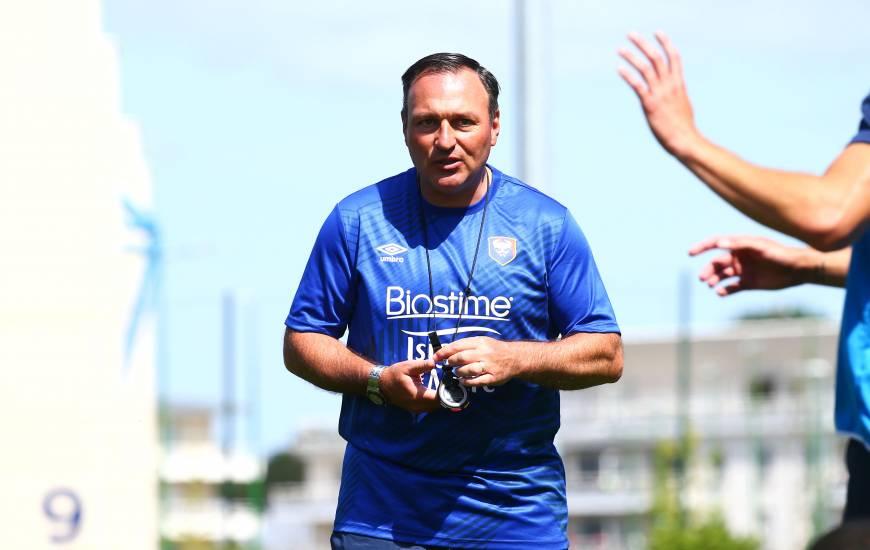 Les joueurs de Fabrice Vandeputte débuteront leur saison 2020 / 2021 face à l'EA Guingamp B