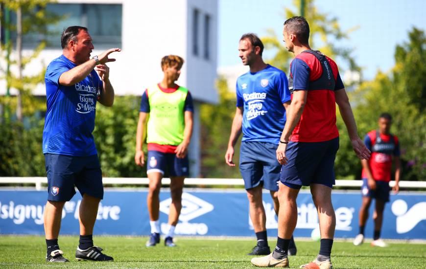 Fabrice Vandeputte et les Caennais seront de retour à l'entraînement cet après-midi à partir de 16h00
