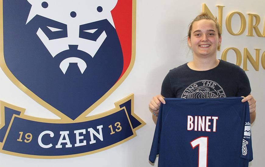La jeune gardienne de but (18 ans) va évoluer sous les couleurs du Stade Malherbe Caen la saison prochaine