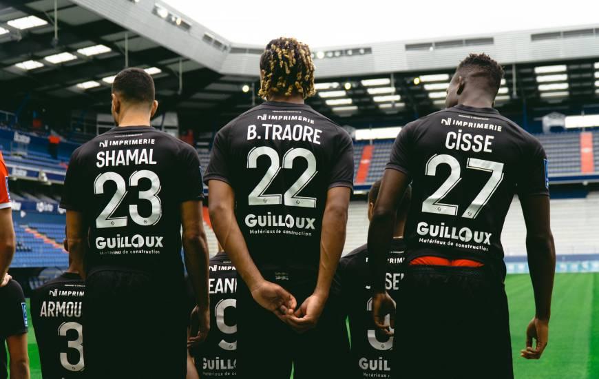 Brahim Traoré et Ibrahim Cissé ont participé à leur première photo officielle avec le Stade Malherbe Caen