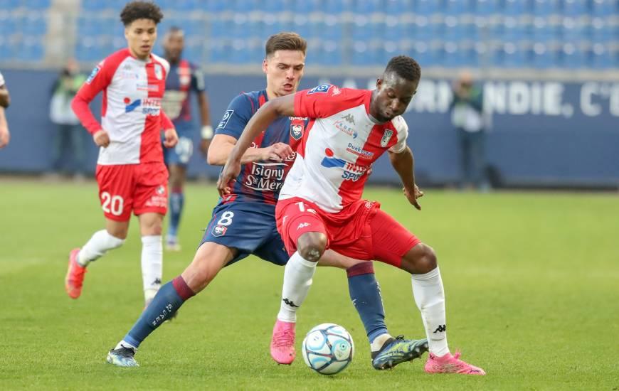 Ibrahim Cissé a affronté le Stade Malherbe Caen la saison dernière sous les couleurs de l'USL Dunkerque