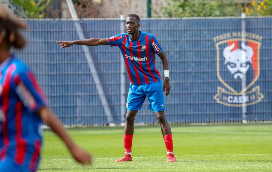 Jason Ngouabi et les Caennais ont enregistré leur quatrième clean-sheet en six matchs de National 2 cette saison