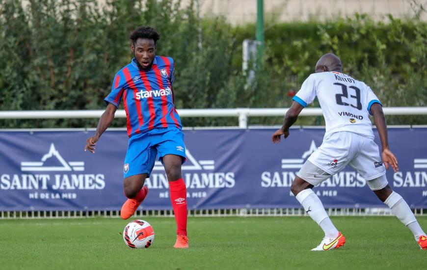 Israël Matteyo et les U19 du Stade Malherbe recevront le FC Chambly Oise dimanche après-midi