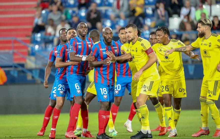 Les Caennais avaient pourtant ouvert le score après un corner frappé par Mehdi Chahiri