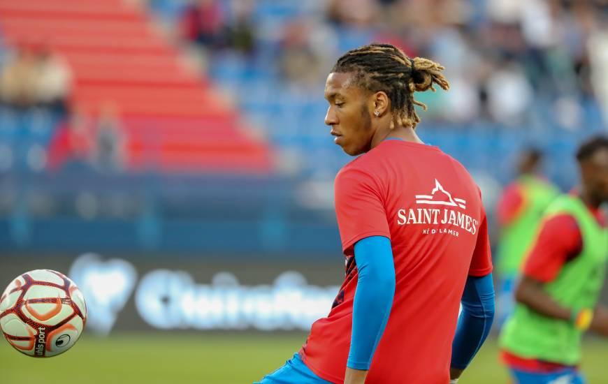 Forfait ce week-end pour la réception du Havre, Brahim Traoré est régulièrement convoqué dans le groupe en Ligue 2 BKT