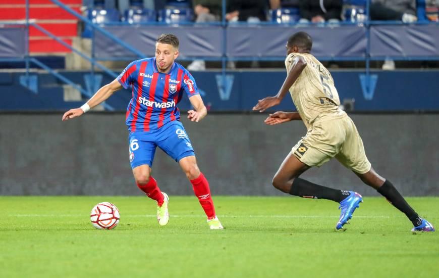 Mehdi Chahiri et les Caennais ont notamment frappé 15 fois au but face au DFCO il y a dix jours