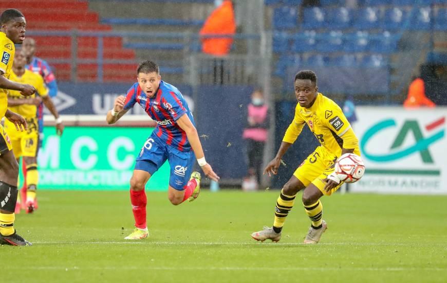 Mehdi Chahiri s'est procuré plusieurs occasions en frappant cinq fois au but avant de tromper le portier adverse
