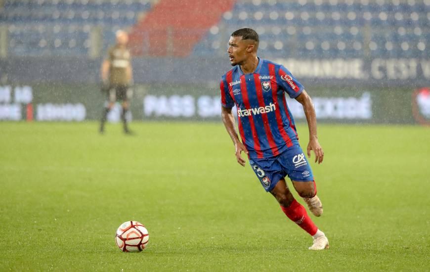 Des conditions dantesques hier soir pour Yoël Armougom et les Caennais hier soir face à Valenciennes
