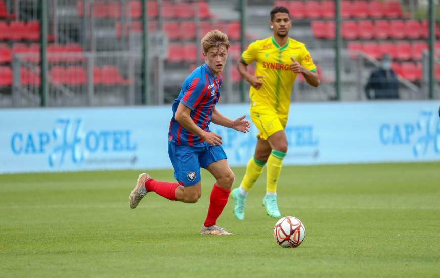 Johann Lepenant a disputé l'intégralité de la rencontre face au FC Nantes ce samedi après-midi