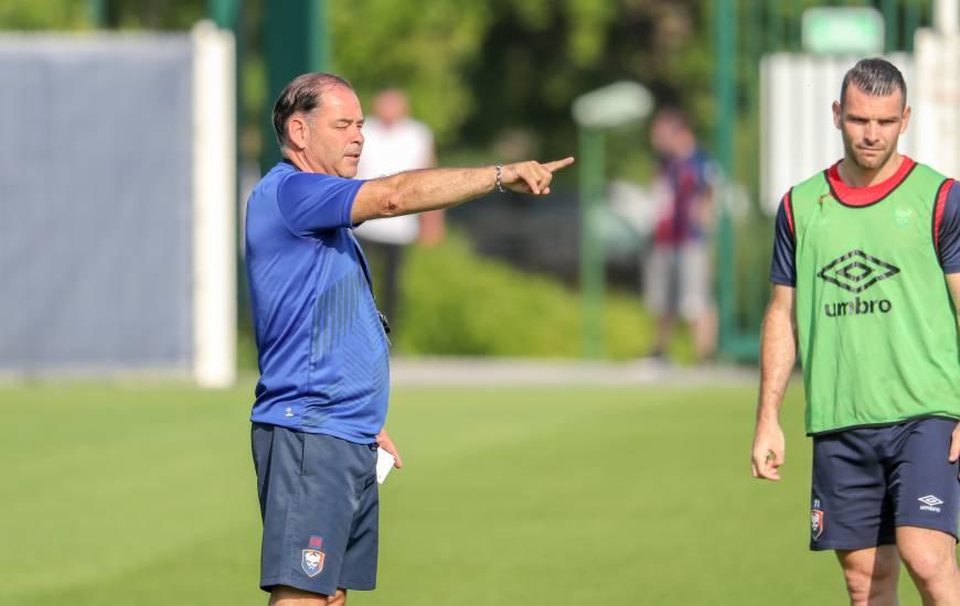Les joueurs de Stéphane Moulin seront opposés aux Chamois Niortais samedi soir pour la deuxième journée de Ligue 2 BKT