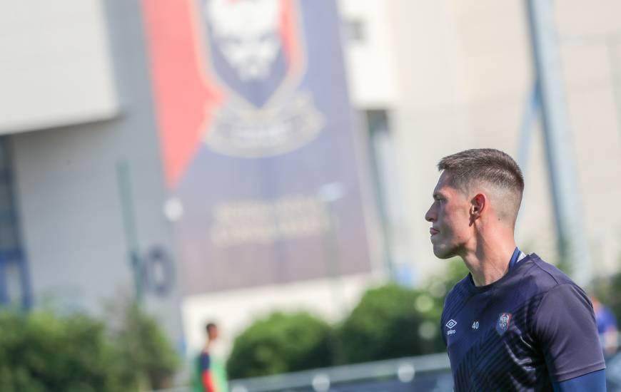 La reprise de l'entraînement se déroulera ce lundi après-midi pour Sullivan Péan et les Caennais