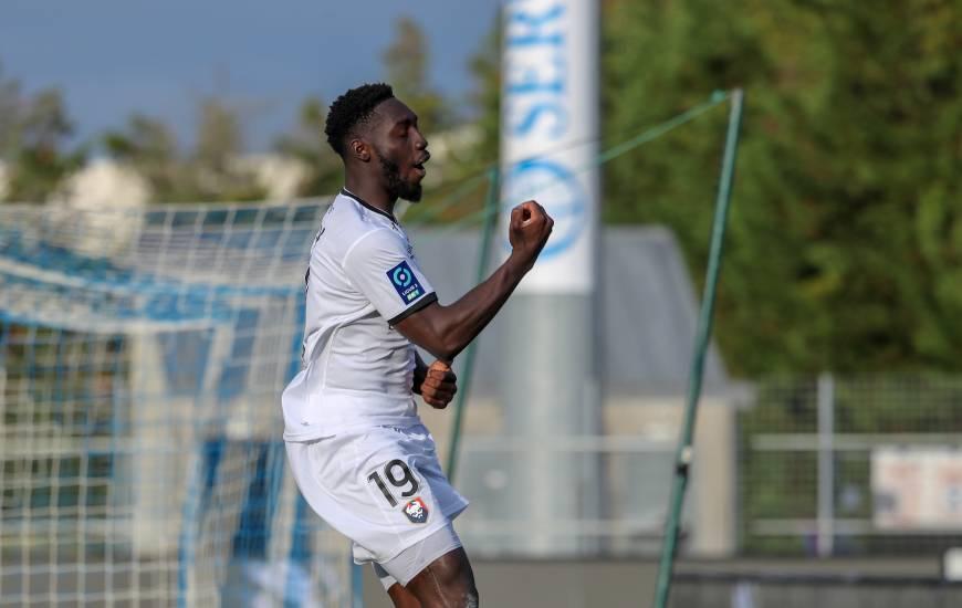Alexandre Mendy a inscrit son sixième but de la saison ce samedi soir sur la pelouse du SC Bastia