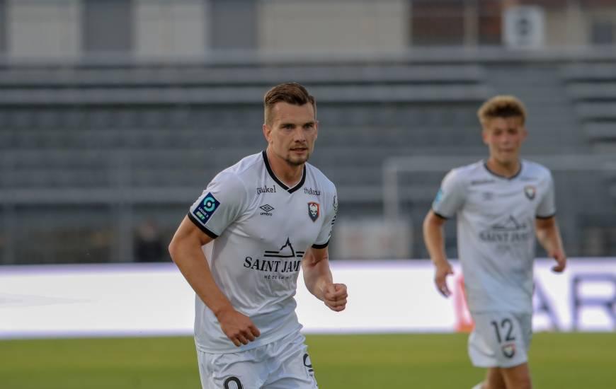 Benjamin Jeannot s'est procuré la meilleure occasion de la rencontre face au Nîmes Olympique samedi après-midi
