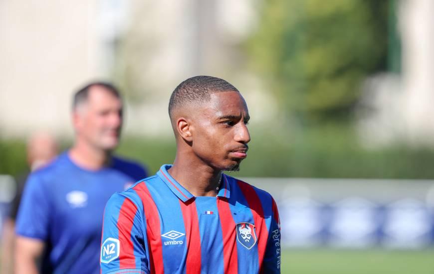 Evens Joseph a inscrit le but de la victoire pour l'équipe réserve sur la pelouse du FC Lorient samedi soir