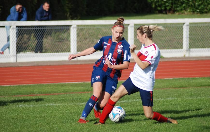 Clémence Palla et les Caennaises avaient largement dominé l'USON Mondeville en Coupe de France il y a deux saisons