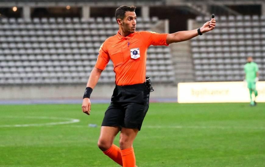 Abdelatif Kherradji va arbitrer le Stade Malherbe Caen pour la deuxième fois de sa carrière demain soir