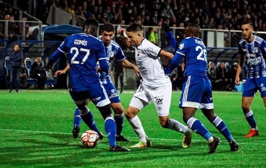 Mehdi Chahiri avait réussi à ouvrir le score en cours de seconde période face à son ancien club