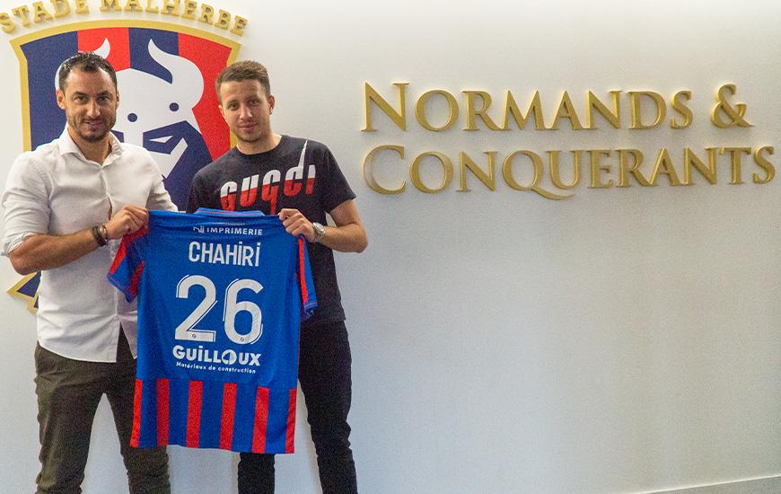 Prêté par le RC Strasbourg, Mehdi Chahiri portera le numéro 26 avec le Stade Malherbe Caen