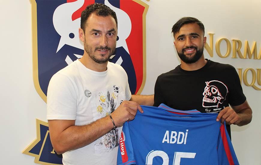 Ali Abdi est la deuxième recrue du Stade Malherbe Caen dans ce mercato estival