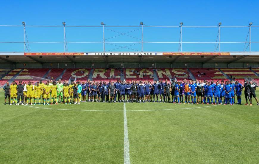 Le Stade Malherbe Caen a participé au Challenge Emiliano Sala le week-end dernier à Orléans