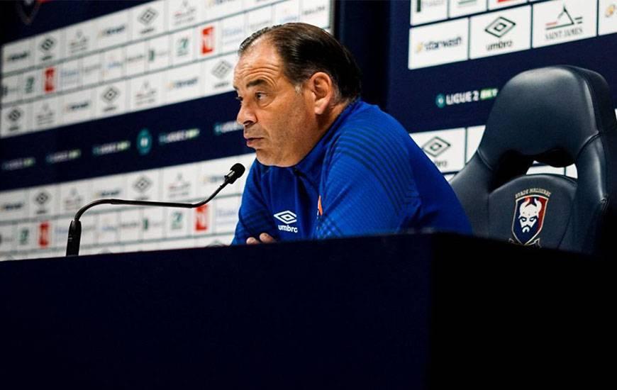 Stéphane Moulin et les Caennais se déplacent demain soir en Corse pour affronter le SC Bastia en Ligue 2 BKT