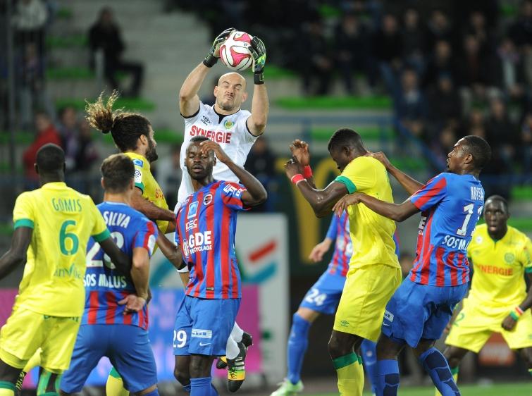 [31e journée de L1] FC Nantes 1-2 SM Caen Arret_riou_1