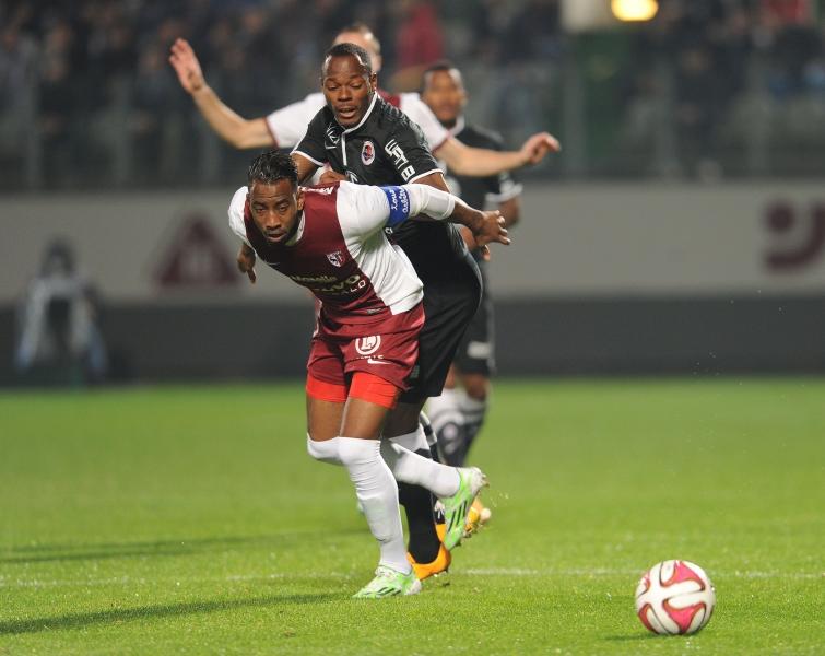 [30e journée de L1] SM Caen 0-0 FC Metz Bazile_metanire