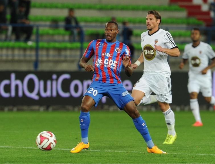 [29e journée de L1] FC Lorient 2-1 SM Caen Bazile_mostefa_1