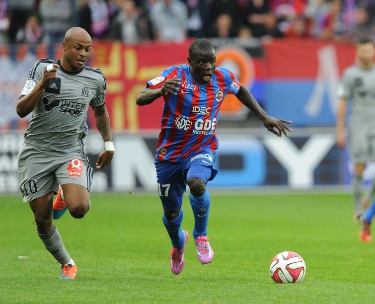 [27e journée de L1] O Marseille 2-3 SM Caen Kante_ayew_1