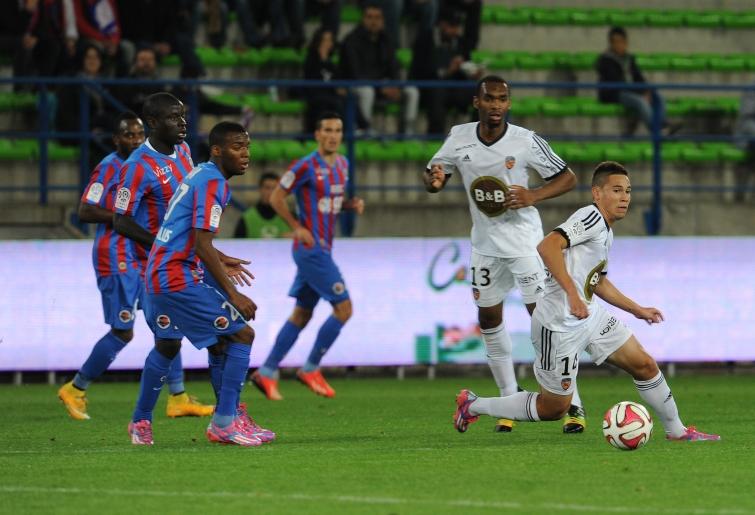 [29e journée de L1] FC Lorient 2-1 SM Caen Lemar_guerreiro