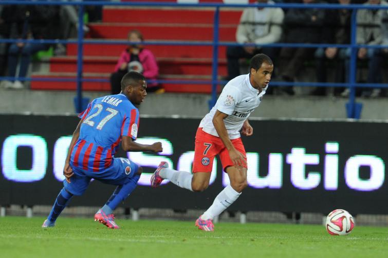 [25e journée de L1] Paris SG 2-2 SM Caen Lemar_lucas