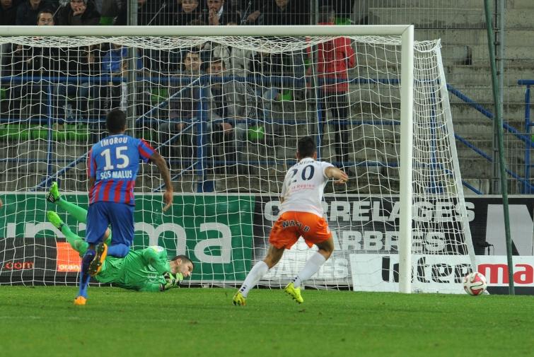 [33e journée de L1] Montpellier HSC 1-0 SM Caen Vercoutre_detourne