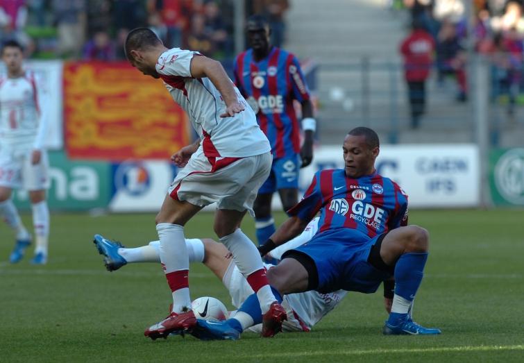 [17e journée de L1] SM Caen 1-2 Lille OSC Action_16