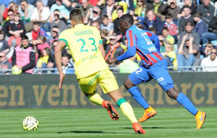 [11e journée de L1] SM Caen 0-2 FC Nantes Appiah_bammou