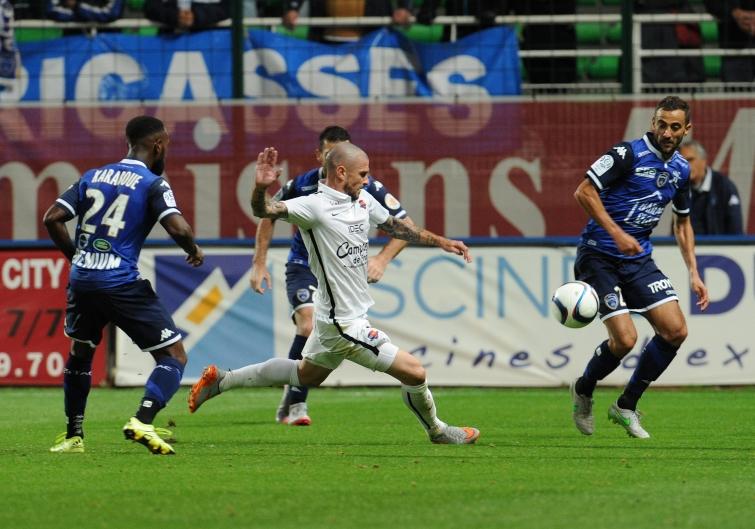 [6e journée de L1] SM Caen 2-1 Montpellier HSC Bessat_camus