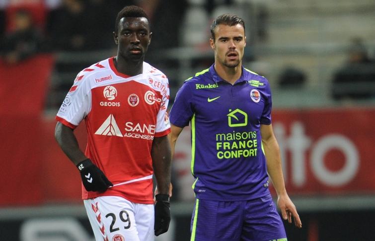 [25e journée de L1] SM Caen 0-2 Stade de Reims Damien_da_silva_1