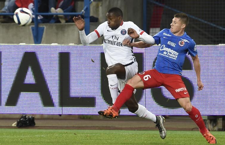 [34e journée de L1] Paris SG 6-0 SM Caen Delaplace_matuidi_1