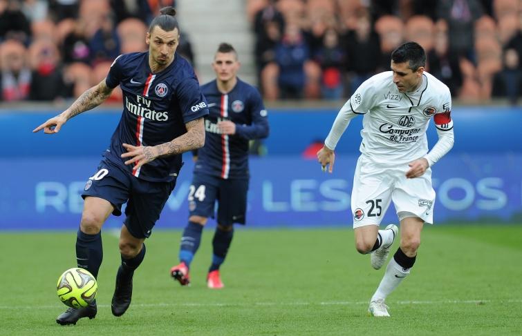 [19e journée de L1] SM Caen 0-3 Paris SG Feret_ibra_2