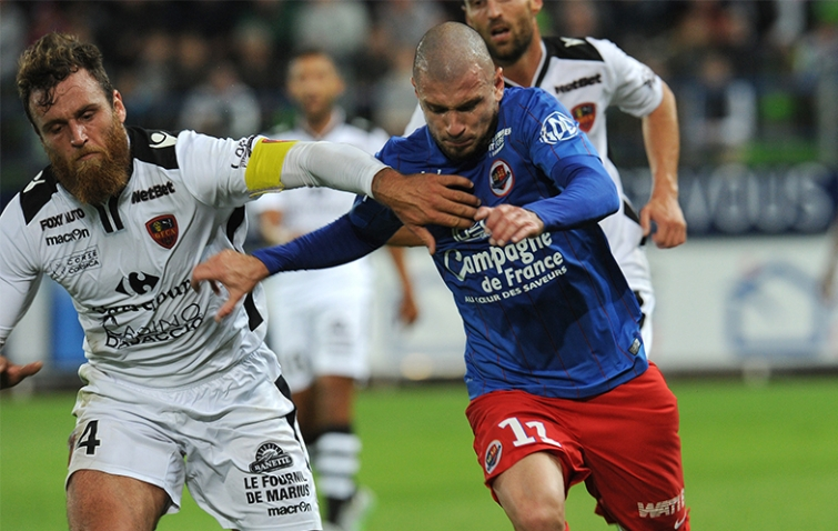 [30e journée de L1] GFC Ajaccio 1-0 SM Caen Filippi