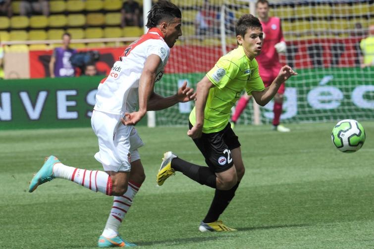 [16e journée de L1] AS Monaco 1-1 SM Caen  Guerreiro_dirar_7