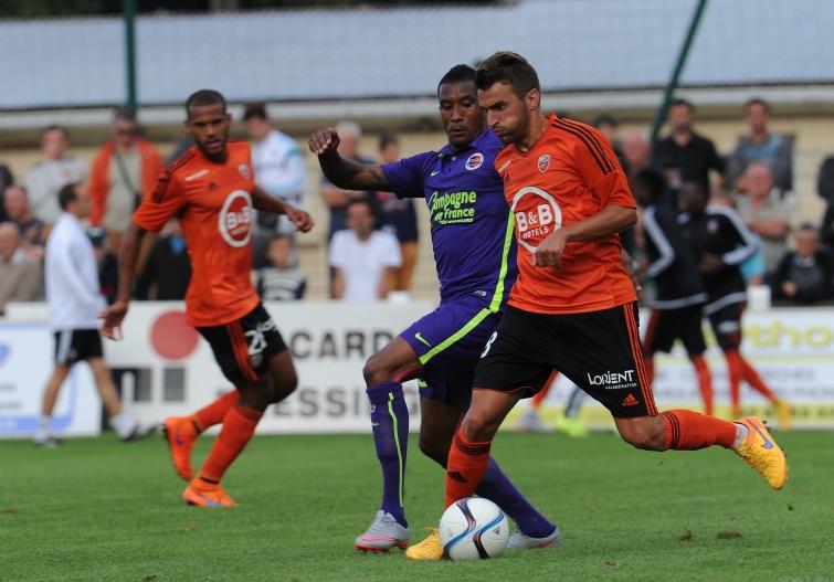 [7e journée de L1] FC Lorient 2-0 SM Caen Imorou_jouffre_1