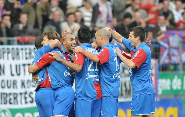 [11e journée de L1] SM Caen 0-2 FC Nantes Joie_but_2_caen_2