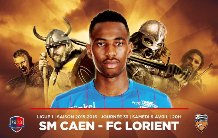 [33e journée de L1] SM Caen 1-2 FC Lorient Jordan_nkololo_1