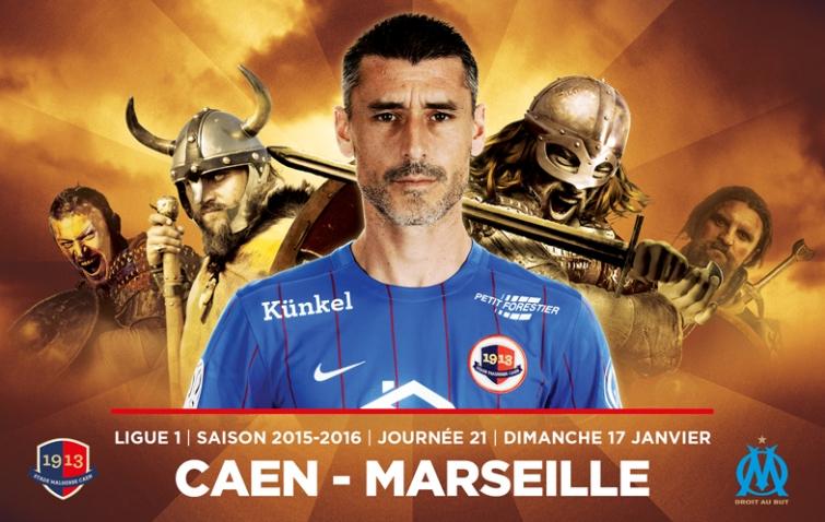 [21e journée de L1] SM Caen 1-3 O Marseille Julien_feret_om