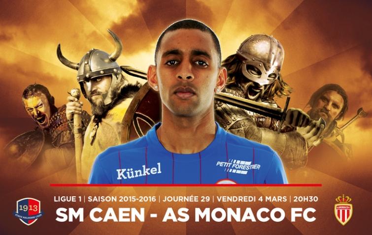 [29e journée de L1] SM Caen 2-2 AS Monaco Ronny_rodelin_2