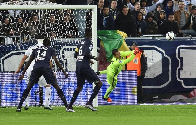 [38e journée de L1] SM Caen 1-0 FCG Bordeaux Vercoutre_repousse