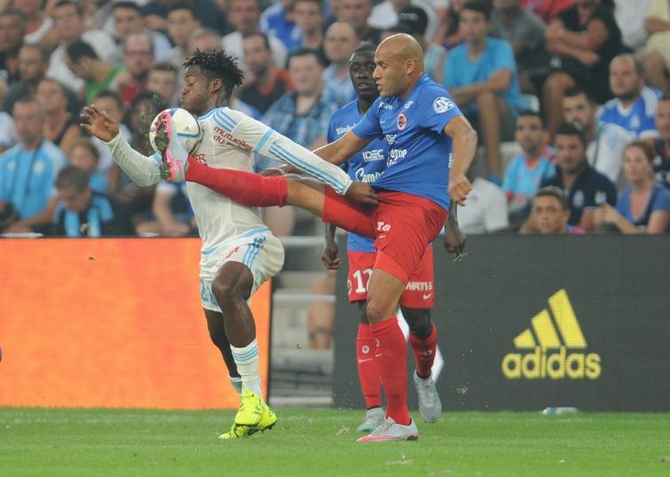 [2e journée de L1] SM Caen 1-0 Toulouse FC Yahia_batshuayi_1
