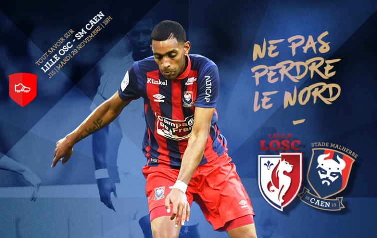 [15e journée de L1] Lille OSC 4-2 SM Caen  15_loscsmc
